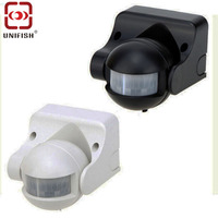 UA110 Energy Saving Light Control Switch IR Infrared Motion Sensor With Adjustable Angle Time Delay Function