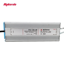 professional waterproof LED Single Output Switching power supply 120w 12V 15V 24V 36V 48V CE Small Volume for LED Strip light [yxyw] hot mean well original npf 120 12 12v 10a meanwell npf 120 12v 120w single output led switching power supply