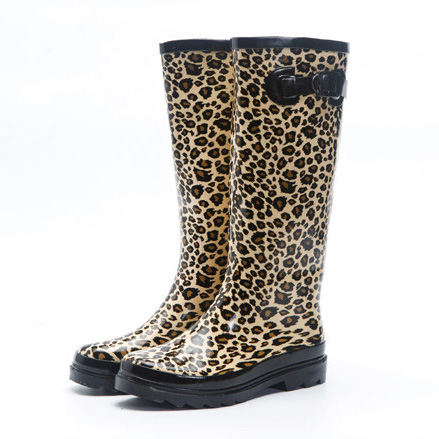 Popular Leopard Rain Boots-Buy Cheap Leopard Rain Boots lots from ...