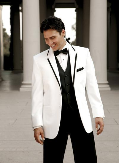 Aliexpress.com : Buy Ivory White Wedding Men Suits Blazer With ...