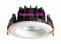 iVAR 5 Round 15w Epistar COB led Downlight Ceiling Recessed Retrofit LED Spot Lamps CRI>80 AC100 240V CE&ROHS Hot Selling