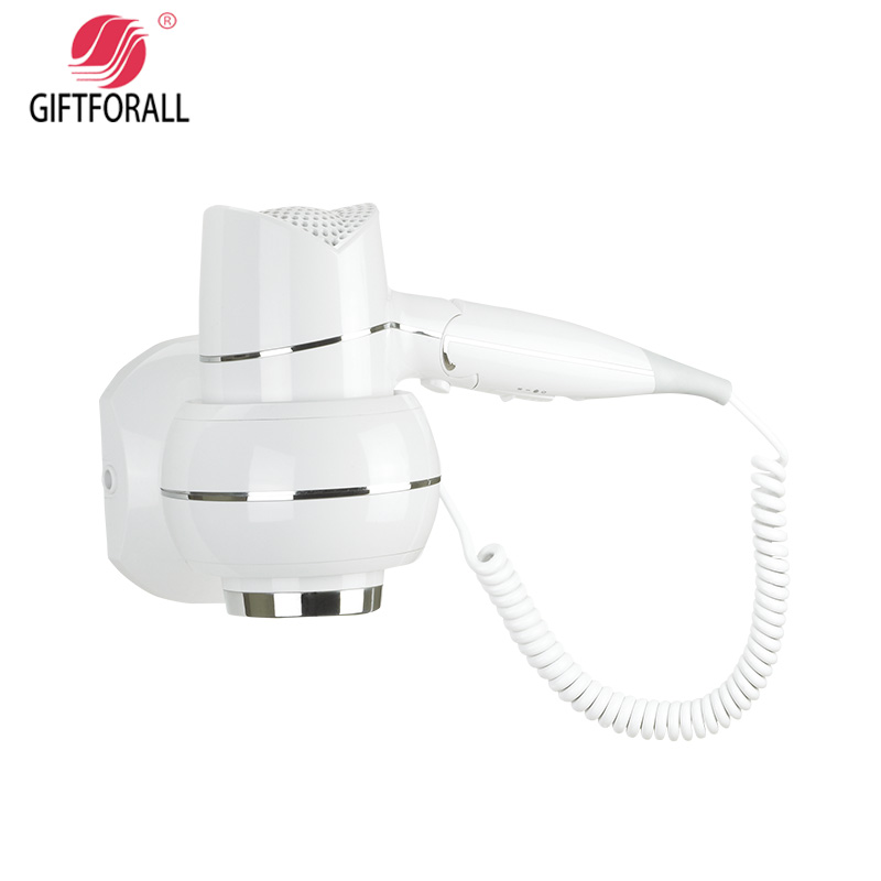 GIFTFORALL Hairdryer Professional Styling Wall Mounted Portable not hurt the hair hot and cold Bathroom Home Hair Dryer D159 the ivory white european super suction wall mounted gate unique smoke door