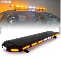 Выше star 88 шт. светодио дный Вт светодиодный автомобиль аварийный световой, предупреждение свет бар, стробоскопы для полиции скорой помощи п