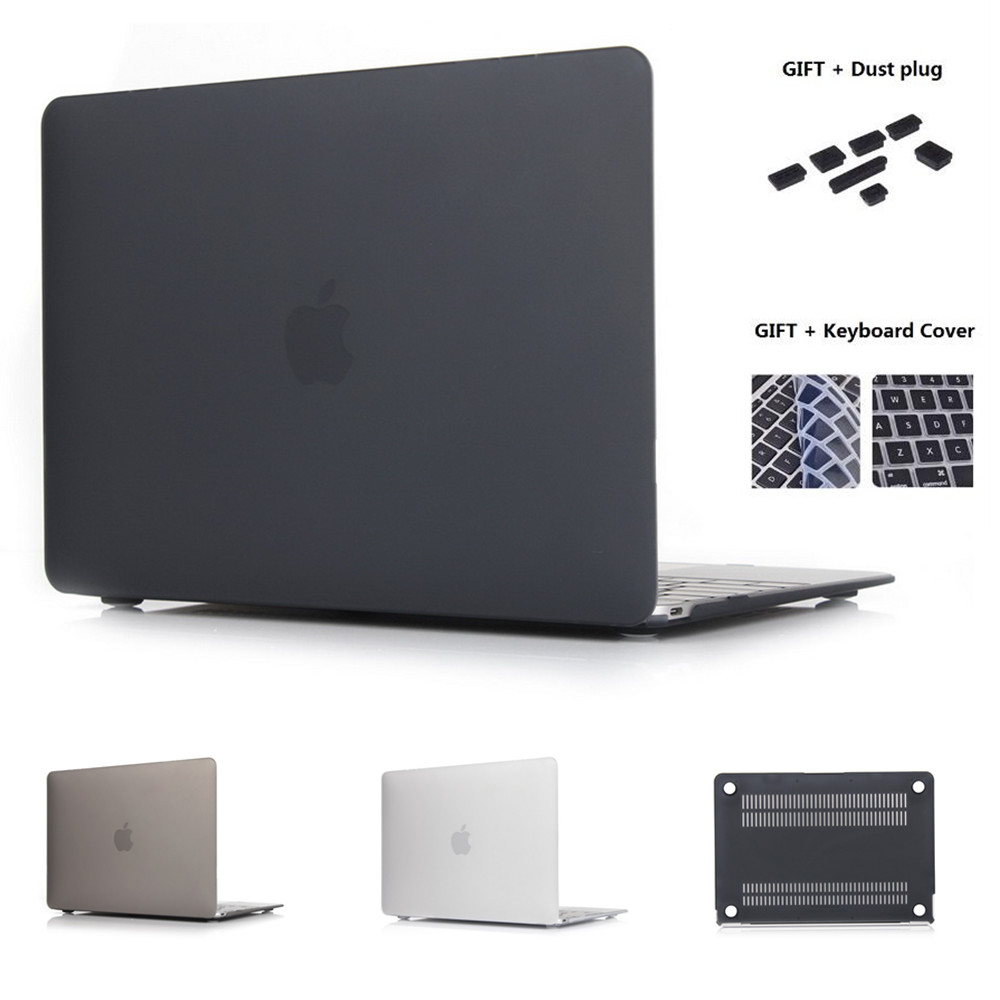 Opaque Crystal Series Hard Case Protector for MacBook 12 inch Air 11 13 inch Pro 13