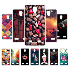 Custom Case For ZTE Blade L7 Case Silicone Flamingo Painted Cover For ZTE L7 Cases Cover Fundas For ZTE Blade L7 Coque Housings смартфон zte blade l7 black