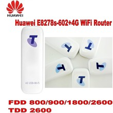 Lot of 15pcs UNLOCKED HUAWEI E8278 4G LTE USB WIFI DONGLE FOR 10 USERS