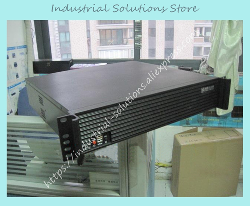 New TOP TOP-2U400L Server Computer Case Industrial Computer Case PC Power Supply Aluminum Alloy Panel new industrial computer case 2u server computer case pc power supply length 43