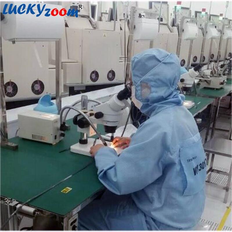 Luckyzoom Brand Professional 7X-45X Trinocular Guide Mikroskop stereo - Przyrządy pomiarowe - Zdjęcie 4