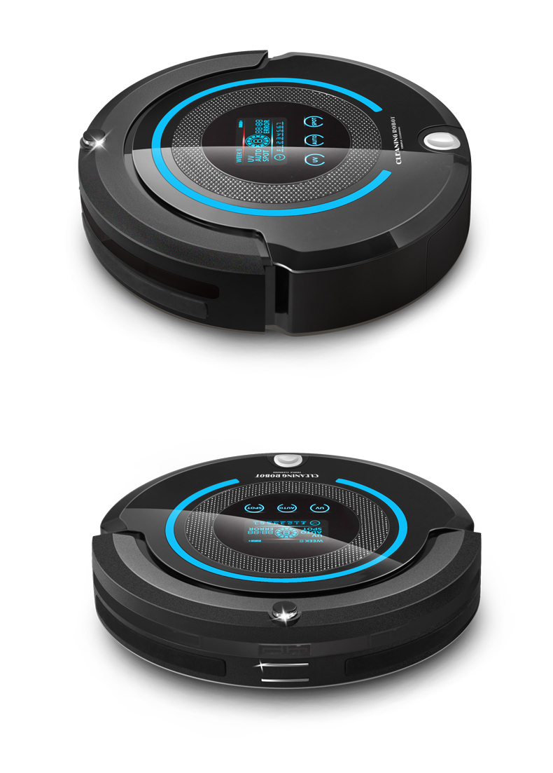 Liectroux Robotic Vacuum Cleaner Multifunction 4in1 Sweep