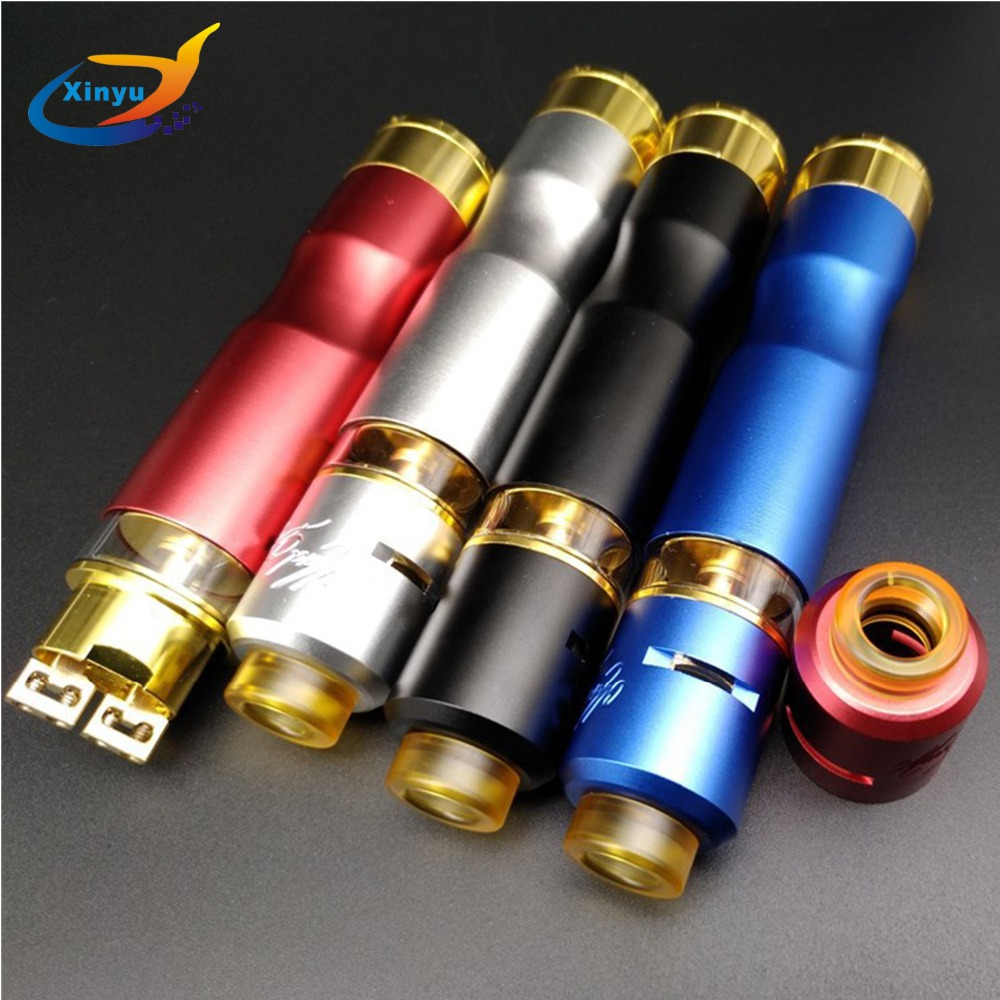 NEWEST Mad Dog RDTA MECH Starter Kit with 7ml Atomizer and Mad Dog RDTA Mechanical Mod powered by single 18650 baterry майка борцовка print bar mad dog