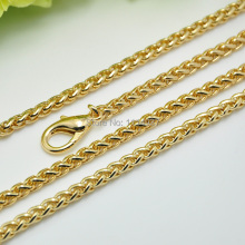 free shipping 5mm gold lantern chain bags chain metal tape metal chain bag chain 50cm 100cm