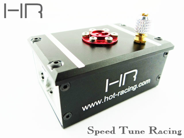 HOT RACING AXIAL SCX10 aluminum receiver box hot
