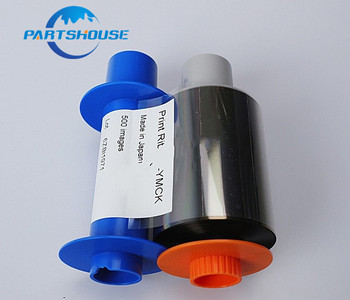 1Pcs Genuine new 45000 Color YMCKO Ribbon 084052 Ribbon for Fargo HDP5000 ID Card Printer Ribbon 84052