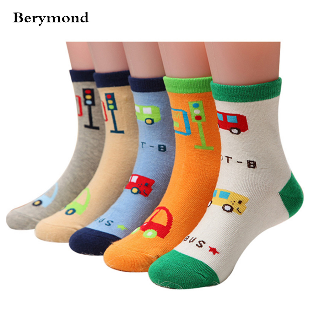 New 2017 autumn/winter cotton childrens socks thick hair towel socks Kids Baby boys girls socks letters ABC 3pair/lot