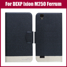DEXP Ixion M250 Case New Arrival 5 Colors Fashion Flip Ultra-thin Leather Protective Cover For DEXP Ixion M250 Ferrum Case