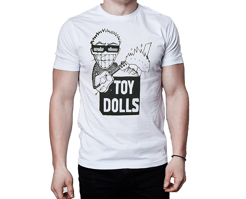 Toy Dolls Idle Gossip 1986 T-Shirt - Punk, Oi! Punk, Street Punk Men Tops Tees 2018 Fashion New Men T Shirt
