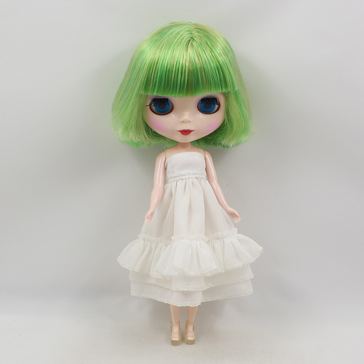 Boneca Blyth doll nude green bangs short hair bjd doll dolls for girls gifts blyth dolls for sale 1pcs black sunglasses for american girl dolls as for bjd blyth dolls eyeglasses suit face width about 8cm dolls