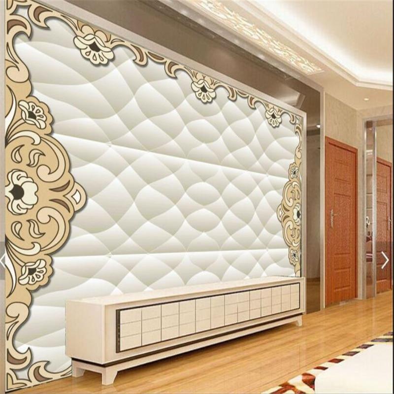 Ausdauernd Beibehang Custom 3d Tapeten Handgemalte Retro 3d Weiche Koffer Tv Hintergrund Wohnzimmer Wand Dekoration