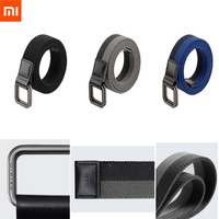 Xiaomi Qimian Fashion Elastic Fabric Sports Tactical Belt Double Ring Alloy Buckle Leather Rinforcement Comfortable Men's Belt Smart Accessories
