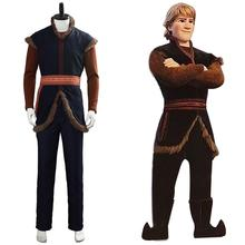 Prince Anna's True Love Kristoff Cosplay Costume Snow Queen