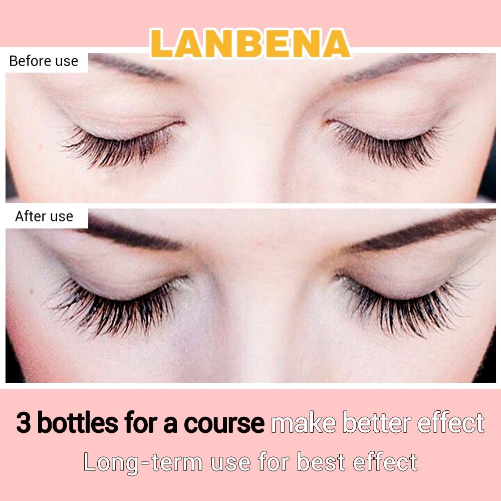 Lanbena Eyelash Growth Serum 7 Day Eyelash Enhancer Longer Fuller
