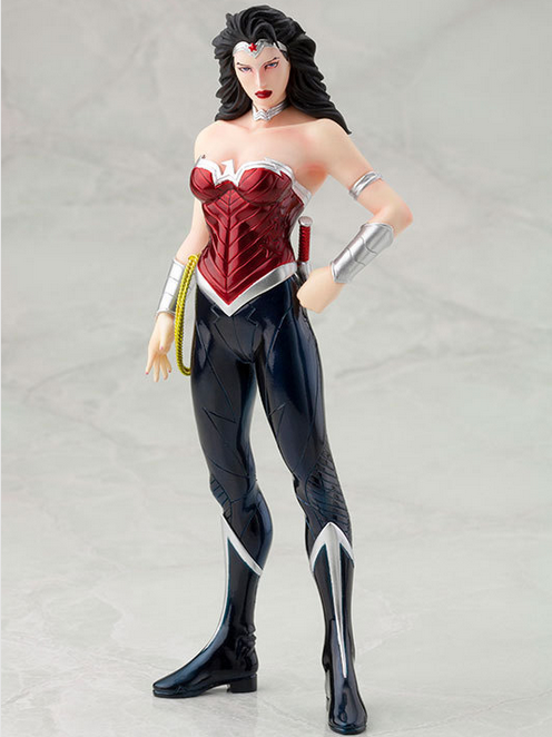 Wonder Woman 1/8 Scale Painted Figure Justice League Doll Brinquedos Anime PVC Action Figure Collectible Model Toy 18cm KT3414 brian azzarello wonder woman volume 1 blood