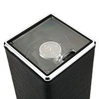 Automatic Rotation Watch Winder Display Box Transparent Cover Jewelry Storage Organizer US Plug Caixa De Relogios