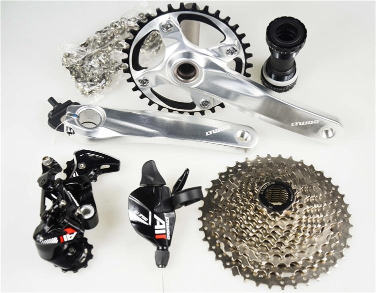 все цены на  bike Groupset Group Set 1X11 speed bicycle parts  mtb group set mountainbike groupset  онлайн