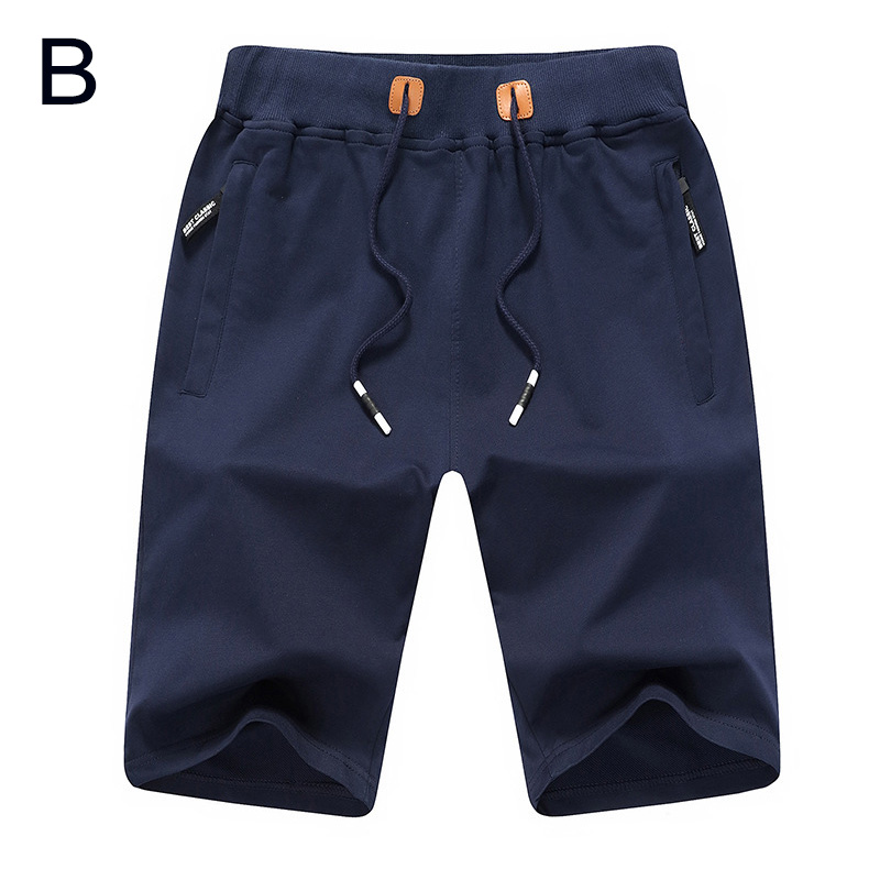 40330835ca9 2018 Summer Men Shorts Baggy Gym Sports Jogger Sweat Short Beach Pants Lace  up Loose Shot Pants Plus Size M L XL 2XL 3XL 4XL-in Board Shorts from Men s  ...