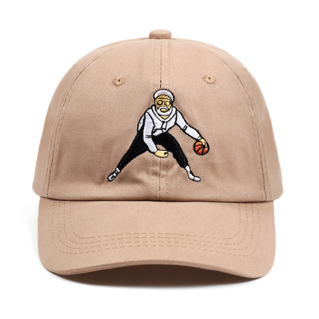 a1f2cbd2bd0 Uncle Drew Dad Hat Tan Basketball Comedy Baseball Cap Kyrie Irving Snapback  Caps 100% Cotton