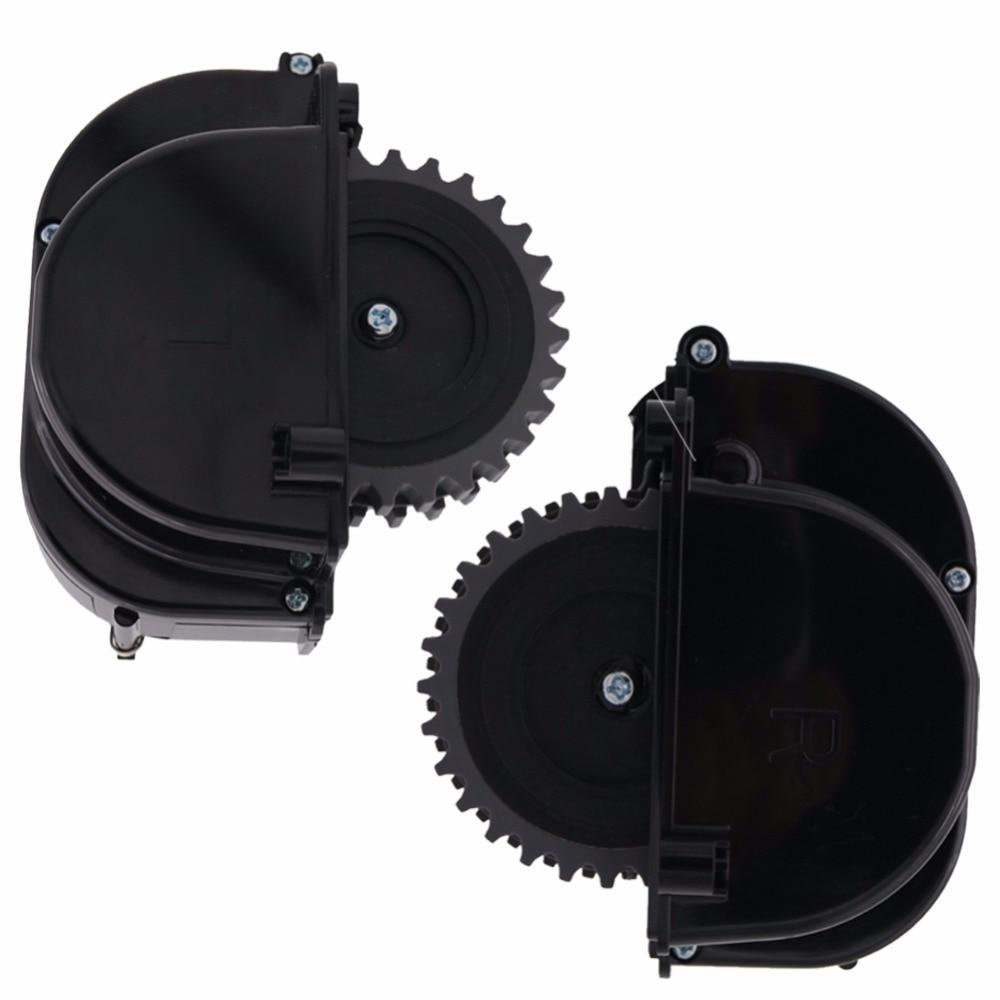 Original (Left+Right ) wheel for robot vacuum cleaner ilife V3+ V5 V3 X5 V5s Kitfort robot Vacuum Cleaner Parts include motor original left right wheel for robot vacuum cleaner ilife v3 v5 v3 x5 v5s kitfort robot vacuum cleaner parts include motor