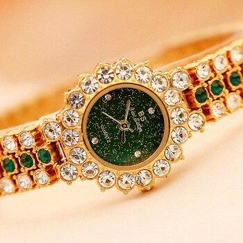 Kol Saati Quartz Women Watches Luxury Rhinestone Dress Gils' Watch Fashion Ladies Wristwatch Reloje Mujer 2019 Montre Femme