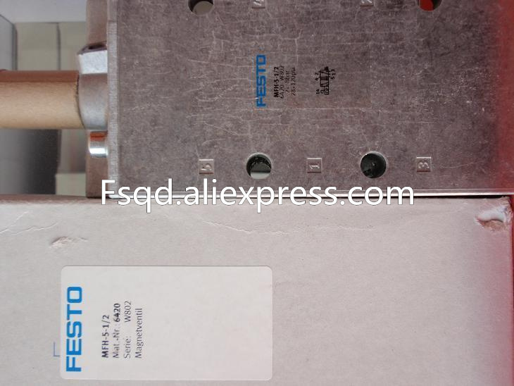 MFH-5-1/2 6420 MFH-5/2-D-3-FR-C New FESTO solenoid valve Germany genuine original new pneumatic components 16 2822 90c[
