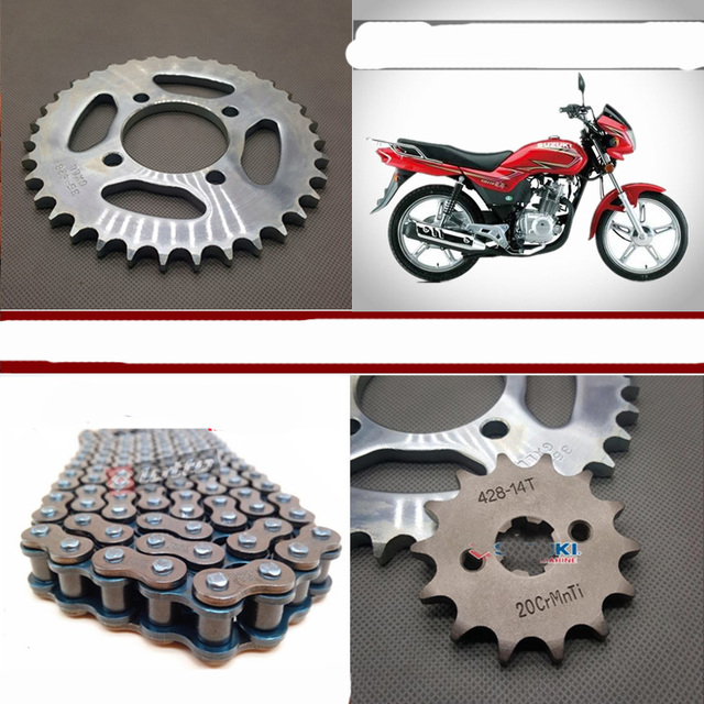 US $20 0 |GD110 Roller Motorcycle Chain With 35T 14T/15T/16T Front Rear  Sprockets-in Chain Sets from Automobiles & Motorcycles on Aliexpress com |