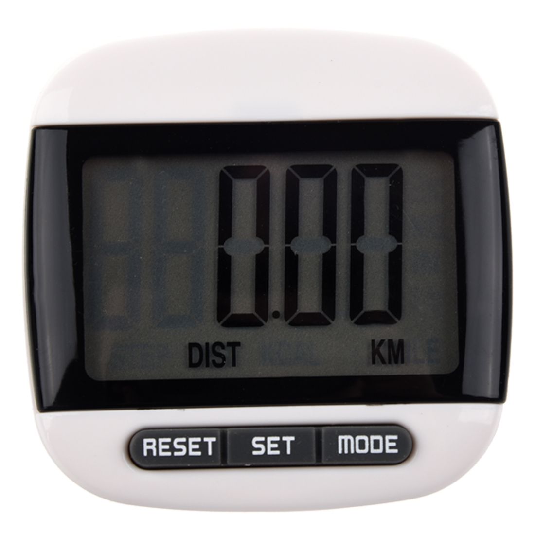 New Multi-function Pedometer Distance Calorie Counter 5 Steps Buffer Error Correction Large LCD Display with Belt