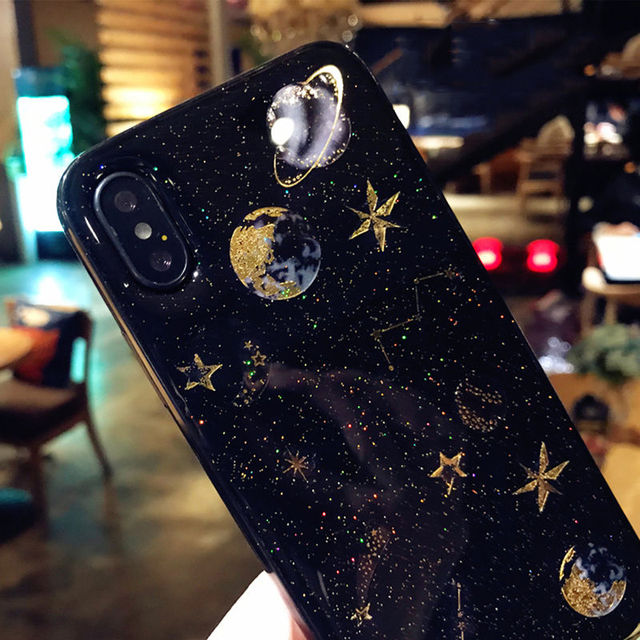 Galaxy Fashion Case for iPhone SE (2020) 5