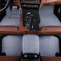 Car Floor Mat Wire Ring Foot Rug Special For Ferrari GMC Savana JAGUAR Smart Lamborghini Murcielago