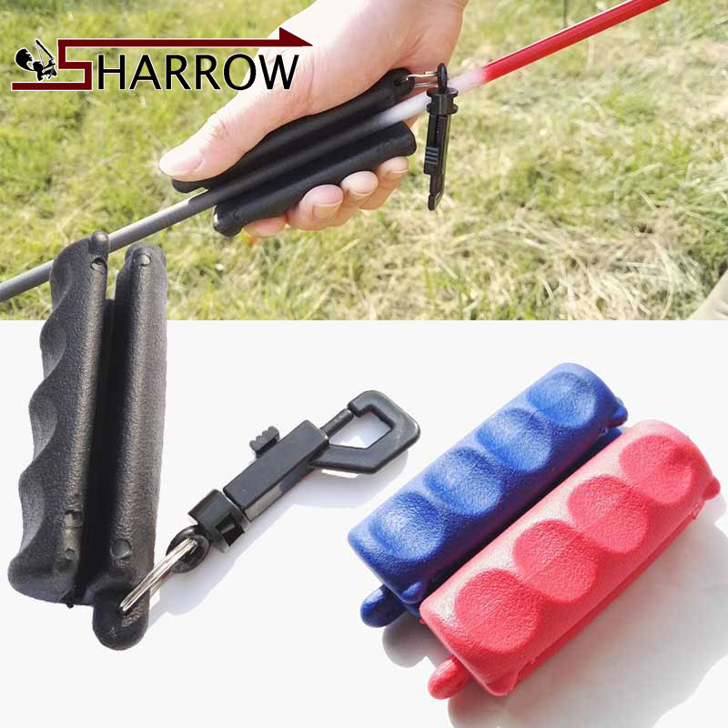 3 piece Rubber Arrow Puller Pulling Arrows Target Remover Shooting Protect Hands Auxiliary tools Black Red Blue