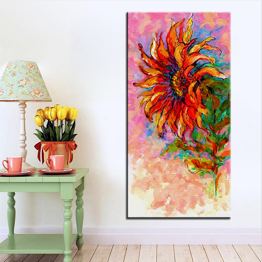 Sunflower Wall Art online get cheap sunflower wall art frame -aliexpress