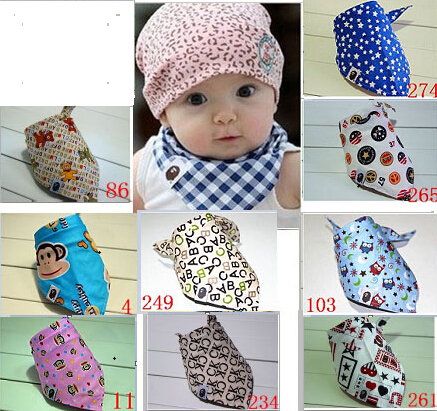 30 Stücke Kinder Mädchen Jungen Kinder Neugeborene Kind Kleinkind Spucktuch Schals Bandana Lätzchen Speichel Dribble Triangle Kopftuch A304