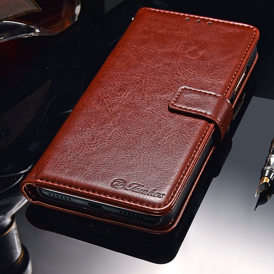 TOMKAS Pocophone F1 Case POCO F1 Global Flip Wallet With Stand Vintage Leather Silicone Back Cover Case For Xiaomi Pocophone F1 (14)