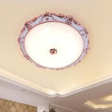 цена на European ceiling lamp simple round living room lamp balcony aisle corridor light simple European modern creative led warm