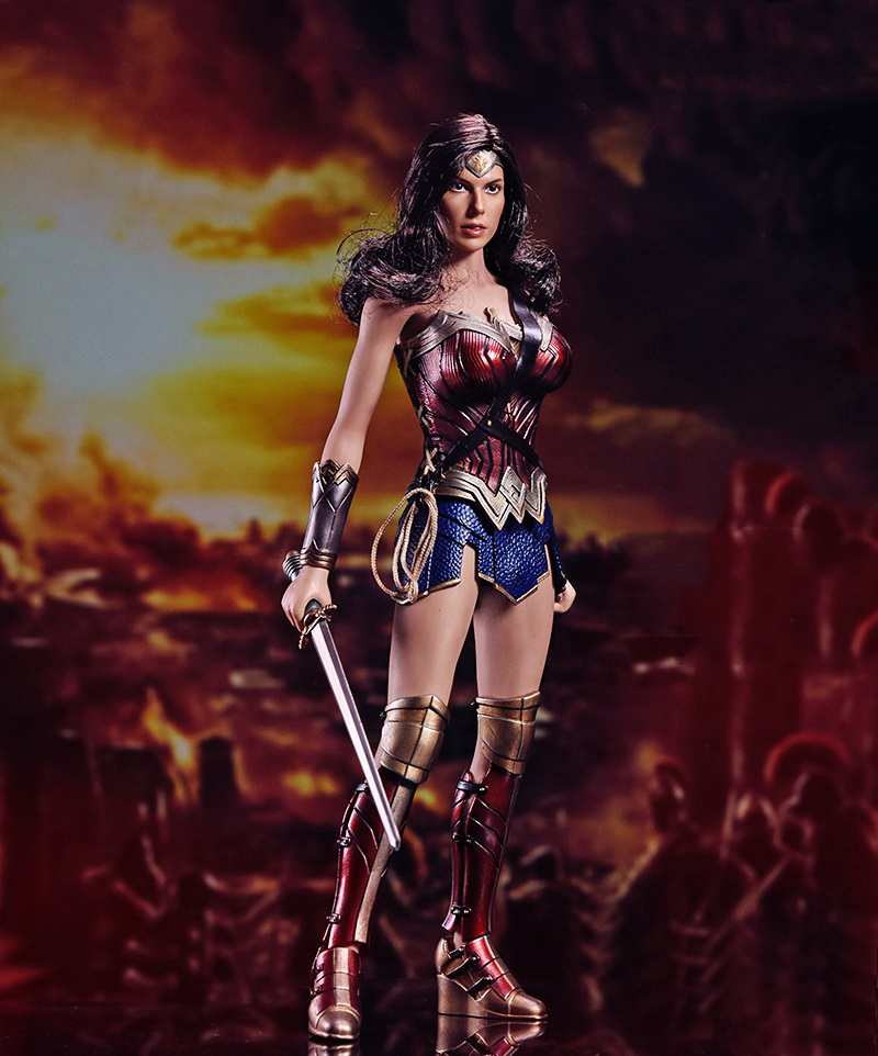 1/6 Scale The Wonder Woman Warriors Collection Full Set Action Figures Collections Toys Gifts brian azzarello wonder woman volume 1 blood