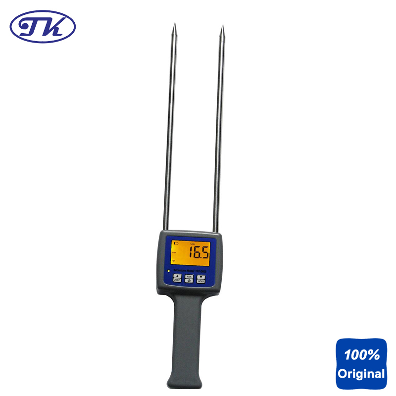 TK100G Grain Moisture Meter Wheat Maize Soya Beans Paddy Rice Barley Moisture Tester natural enemy fauna in rice wheat system of india