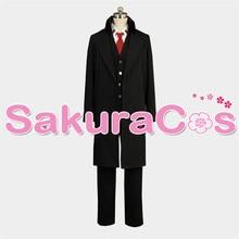 Anime ACCA 13gu Kansatsuka Center Jean Otus Aroli Work Uniform Full Set Cosplay Halloween Carnival Costume for Adult Men Women