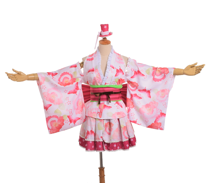 Cute Yazawa Nico Cosplay Girls Japanese Kimono Bathrobe Dress Anime Love Live YUKATA Robes Series