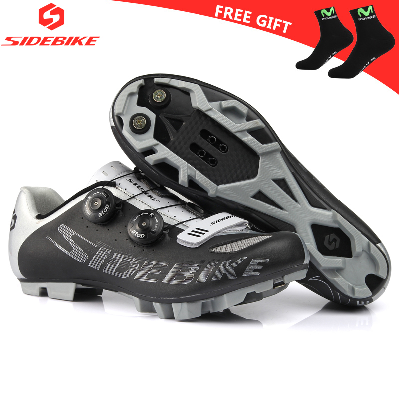 Sidebike 2017 Cycling Racing shoes Self-Locking Shoes Mountain Bicycle Shoes bike  MTB Bike Shoes sapatilha zapatillas ciclismo sidebike mens road cycling shoes breathable road bicycle bike shoes black green 4 color self locking zapatillas ciclismo 2016