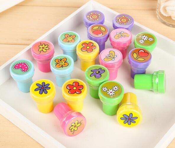 4*60 pcs Self-ink Stamps Kids Party Favors Supplies for Birthday Christmas Gift Boy Girl Goody Bag Pinata Fillers Fun Statione