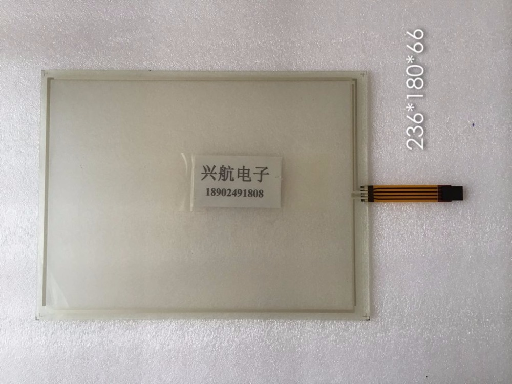 original New Brand new genuine 4-wire resistance 236 * 180 line length 66 IPC touch screen glass display panel original new brand new genuine 4 wire resistance 236 180 line length 66 ipc touch screen glass display panel