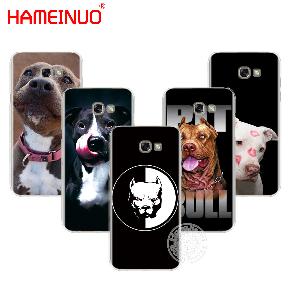 HAMEINUO pitbull <font><b>dog</b></font> cell <font><b>phone</b></font> <font><b>case</b></font> cover for <font><b>Samsung</b></font> <font><b>Galaxy</b></font> <font><b>A3</b></font> A310 A5 A510 A7 A710 A8 A810 A9 2015 2016 <font><b>2017</b></font> 2018 image
